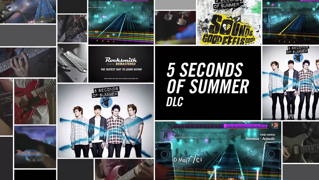 5 Seconds of Summer Song Pack | Rocksmith Songs